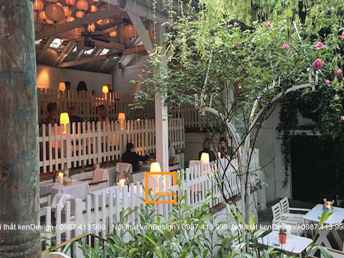 dia chi thiet ke nha hang phong cach san uon uy tin 2 - Địa chỉ thiết kế nhà hàng phong cách sân vườn uy tín