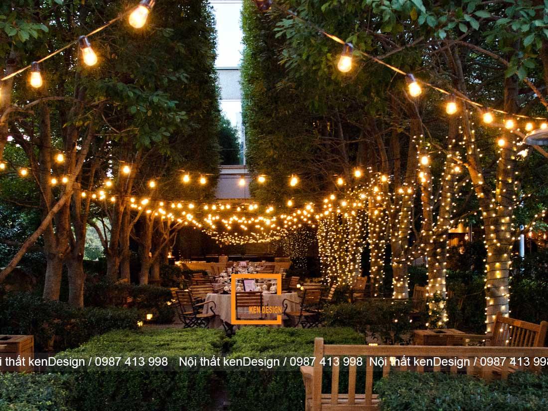 dia chi thiet ke nha hang phong cach san uon uy tin 3 - Địa chỉ thiết kế nhà hàng phong cách sân vườn uy tín