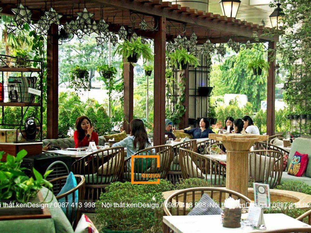 dia chi thiet ke nha hang phong cach san uon uy tin 4 1067x800 - Địa chỉ thiết kế nhà hàng phong cách sân vườn uy tín