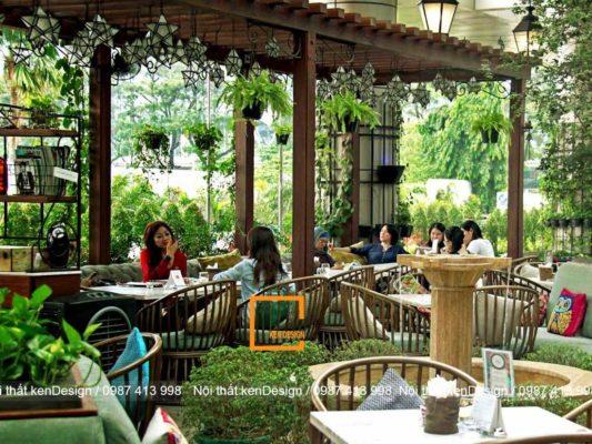 dia chi thiet ke nha hang phong cach san uon uy tin 4 533x400 - Địa chỉ thiết kế nhà hàng phong cách sân vườn uy tín