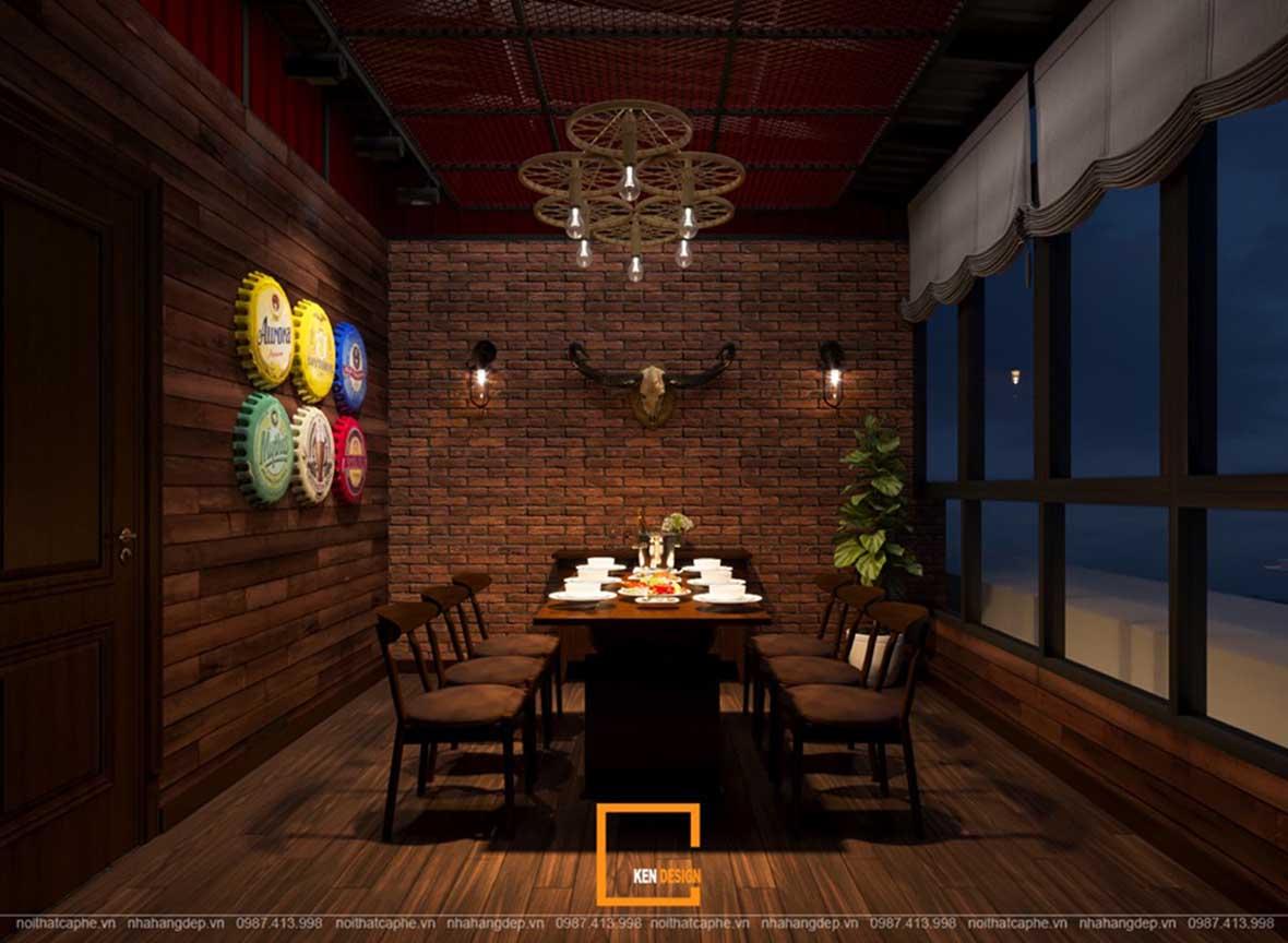 doc la voi noi that a au dan xen trong thiet ke nha hang sky view 3 - Sky View tại Quảng Ngãi - Độc lạ với nội thất Á- Âu đan xen trong thiết kế nhà hàng