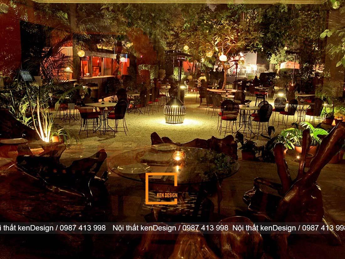 goi y su dung anh sang trong thiet ke nha hang san vuon 1 - Gợi ý sử dụng ánh sáng trong thiết kế nhà hàng sân vườn