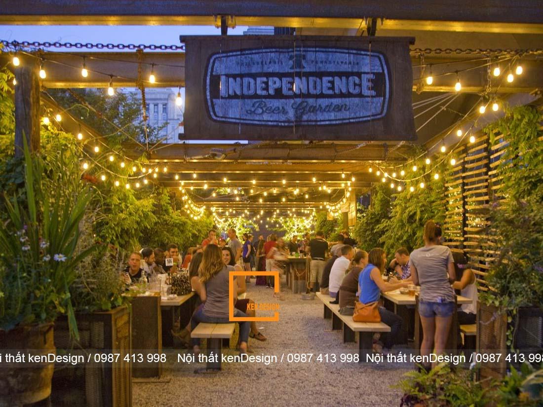 goi y su dung anh sang trong thiet ke nha hang san vuon 2 - Gợi ý sử dụng ánh sáng trong thiết kế nhà hàng sân vườn