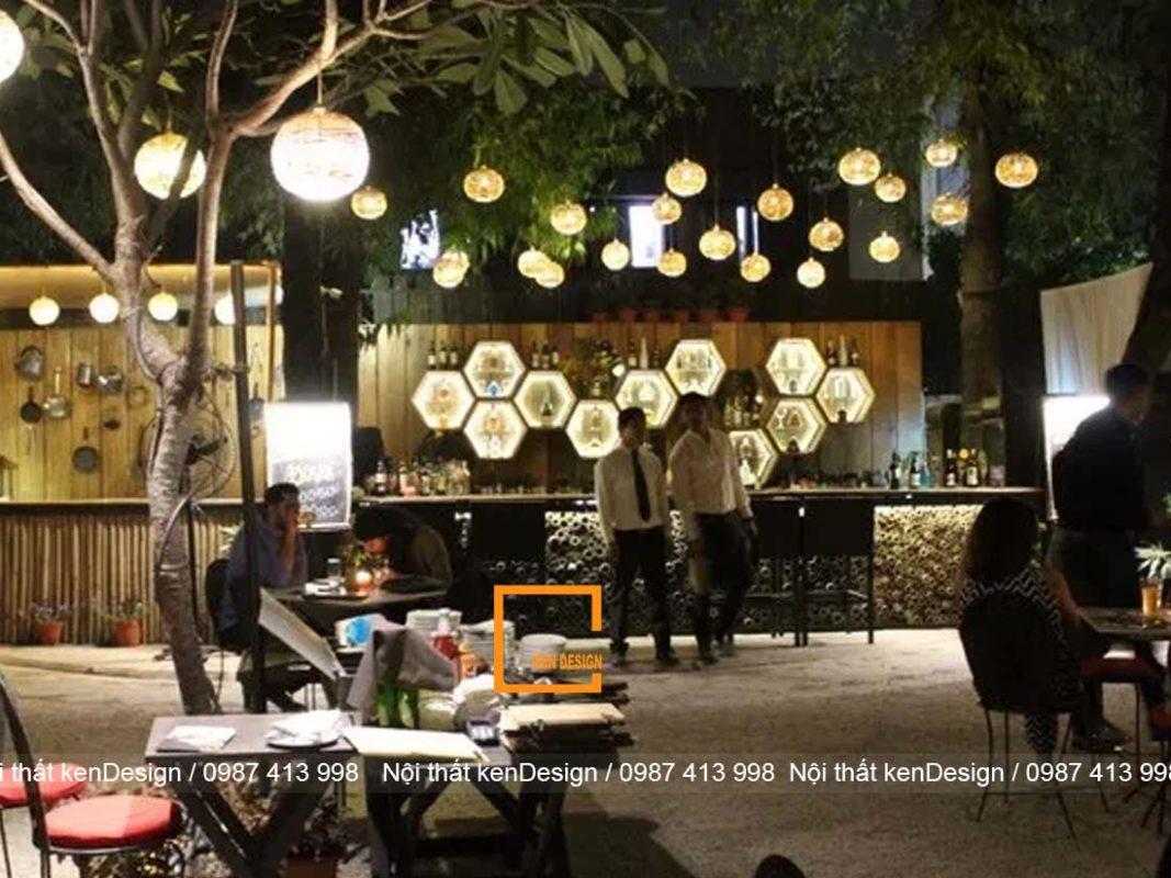 goi y su dung anh sang trong thiet ke nha hang san vuon 3 1067x800 - Gợi ý sử dụng ánh sáng trong thiết kế nhà hàng sân vườn
