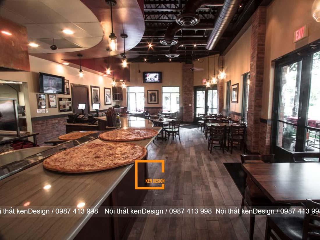 goi y su dung mau sac trong thiet ke nha hang pizza 1 - Gợi ý sử dụng màu sắc trong thiết kế nhà hàng pizza