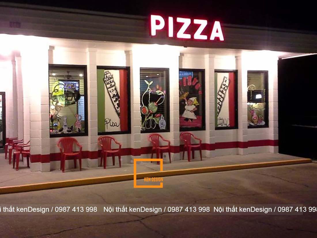 goi y su dung mau sac trong thiet ke nha hang pizza 2 - Gợi ý sử dụng màu sắc trong thiết kế nhà hàng pizza