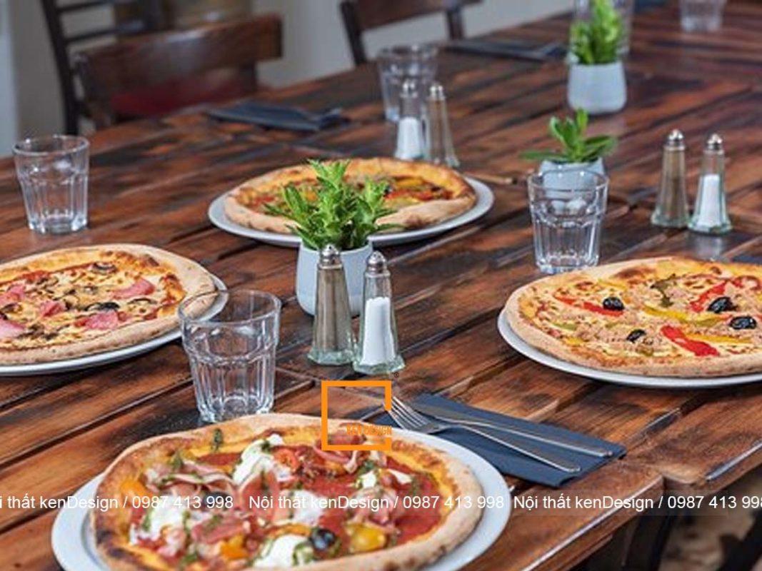 goi y su dung mau sac trong thiet ke nha hang pizza 3 1067x800 - Gợi ý sử dụng màu sắc trong thiết kế nhà hàng pizza
