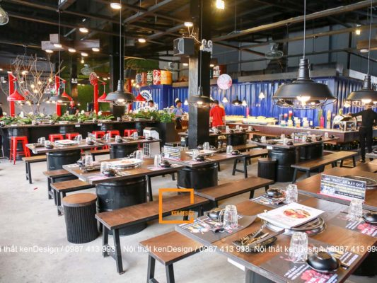loi khuyen cho thiet ke nha hang lau nuong khong khoi noi bat 1 533x400 - Lời khuyên cho thiết kế nhà hàng lẩu nướng không khói nổi bật