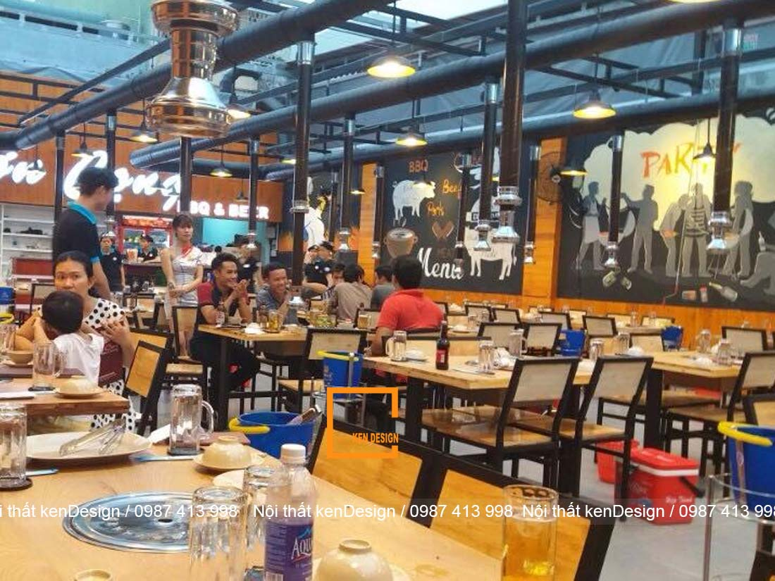 loi khuyen cho thiet ke nha hang lau nuong khong khoi noi bat 4 - Lời khuyên cho thiết kế nhà hàng lẩu nướng không khói nổi bật
