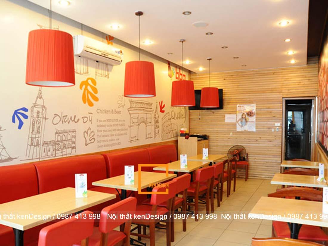 meo trang tri trong thiet ke nha hang an nhanh ban can biet 4 - Mẹo trang trí trong thiết kế nhà hàng ăn nhanh bạn cần biết