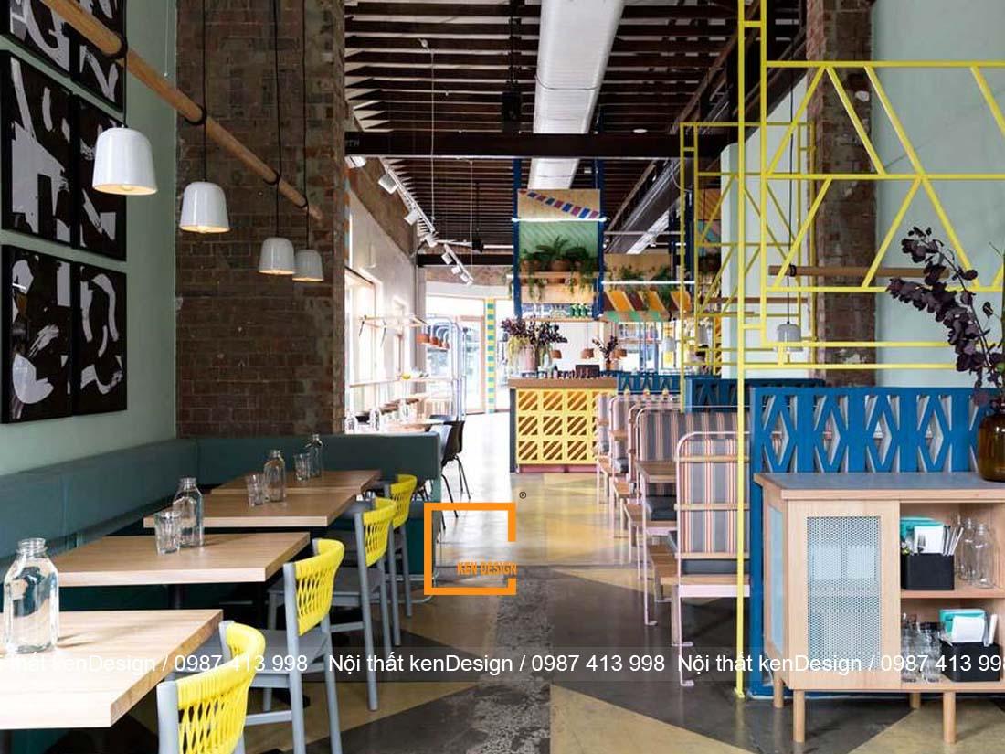 nguyen ly thiet ke thi cong nha hang tron goi can tuan thu 1 - Nguyên lý thiết kế thi công nhà hàng trọn gói cần tuân thủ