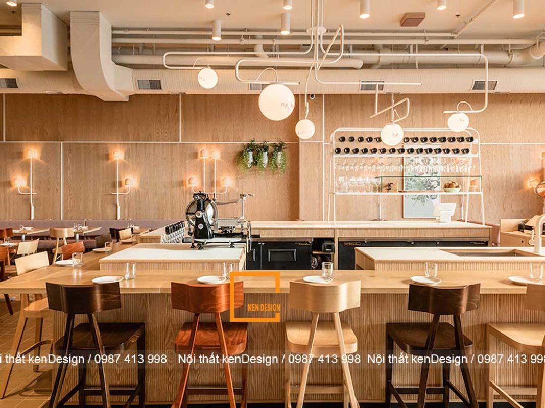 nhung dieu can biet khi thiet ke thi cong nha hang tron goi 1 1067x800 - Những điều cần biết khi thiết kế thi công nhà hàng trọn gói
