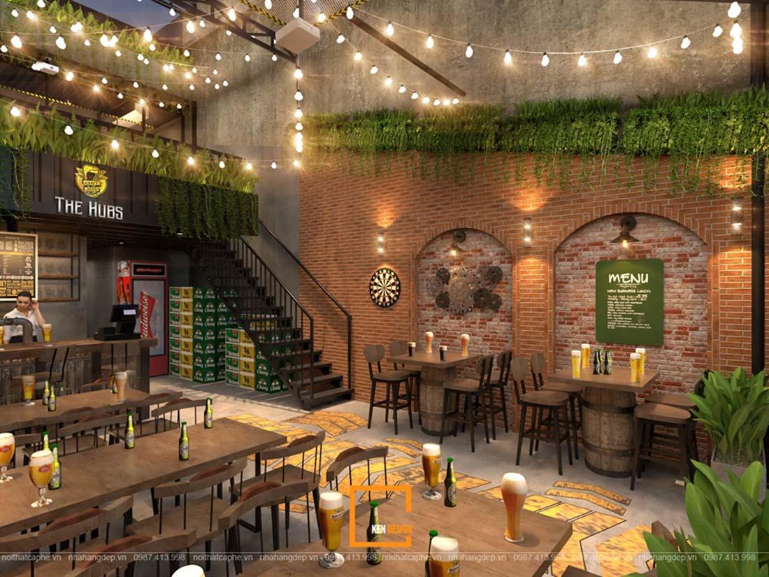 the hugs khong gian nha hang bia san vuon doc dao tai ho chi minh 6 - THE HUBS - Không gian nhà hàng bia sân vườn độc đáo tại Hồ Chí Minh