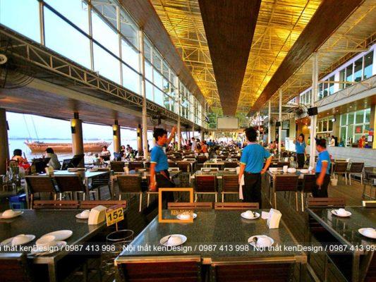 thi cong noi that nha hang hai san dam bao cong nang 1 533x400 - Thi công nội thất nhà hàng hải sản đảm bảo công năng