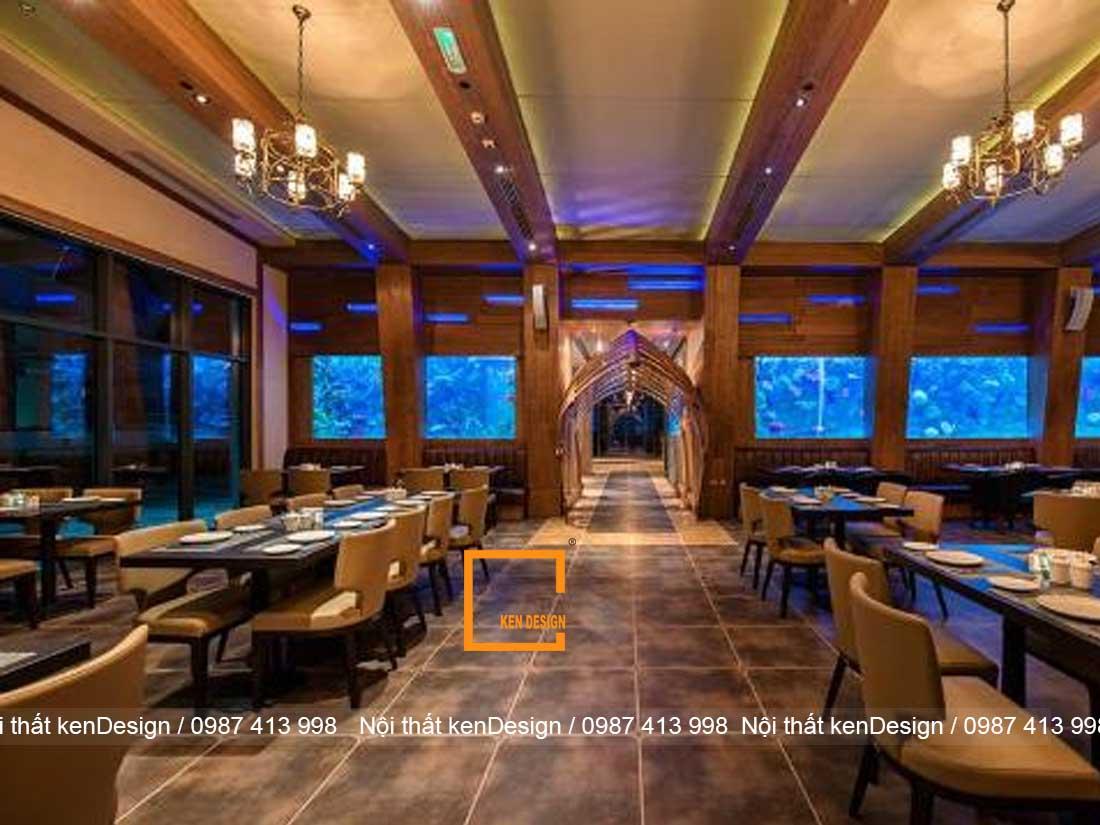 thi cong noi that nha hang hai san dam bao cong nang 2 - Thi công nội thất nhà hàng hải sản đảm bảo công năng