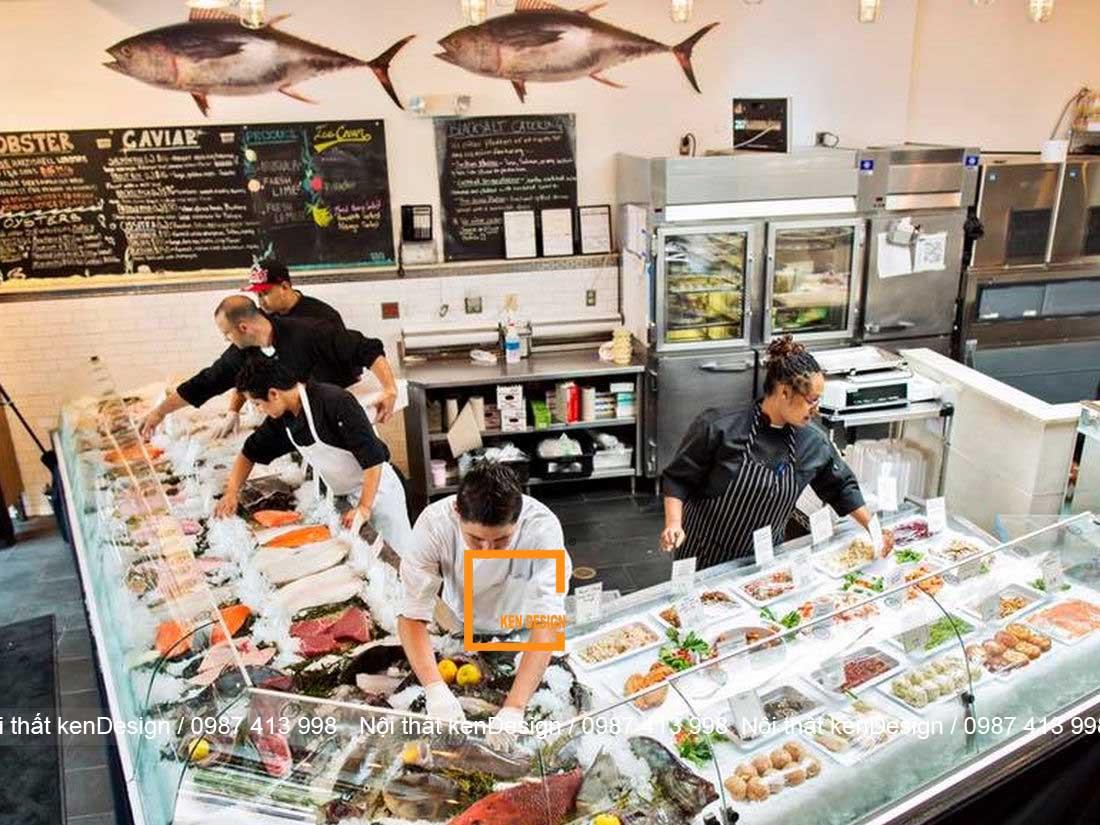 thi cong noi that nha hang hai san dam bao cong nang 3 - Thi công nội thất nhà hàng hải sản đảm bảo công năng