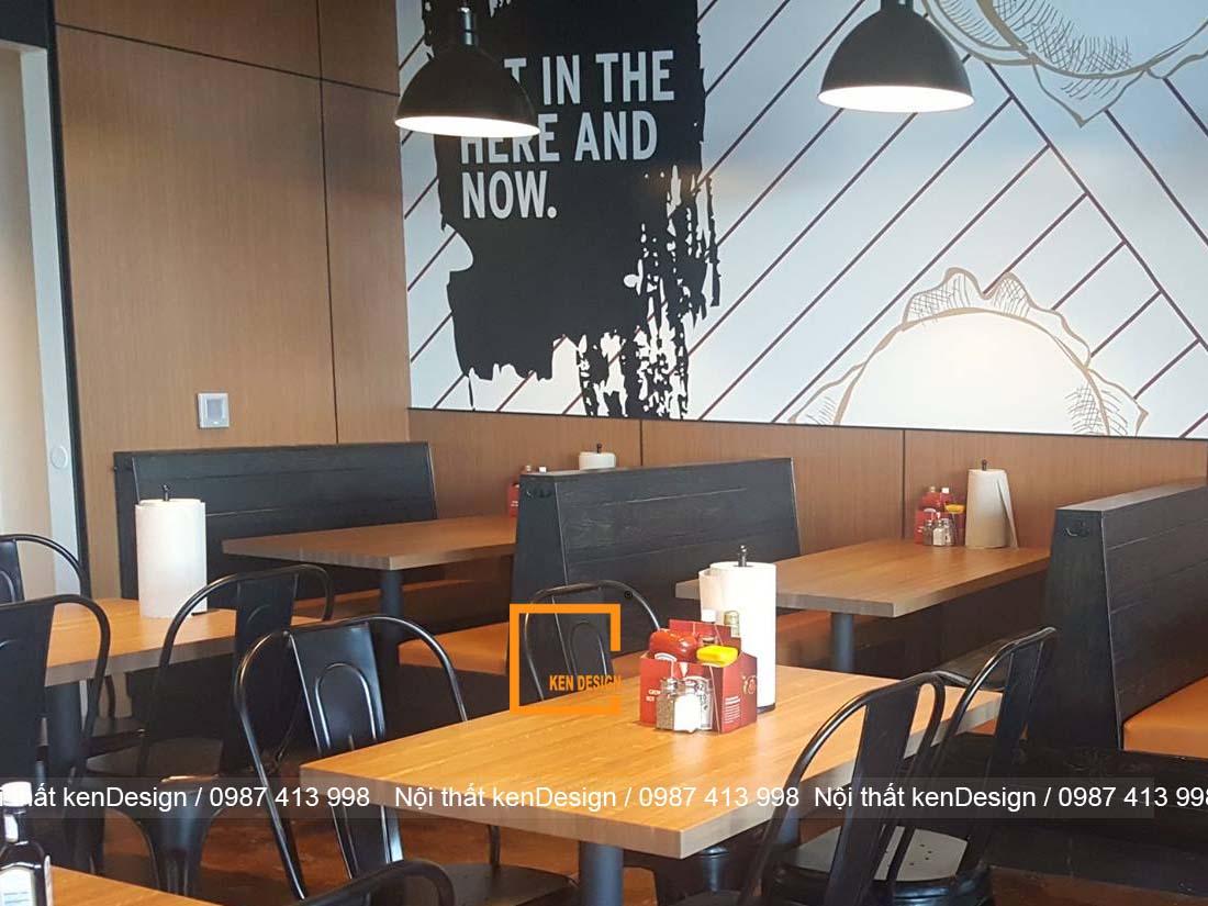 thiet ke noi that nha hang don gian bi quyet la gi 4 - Thiết kế nội thất nhà hàng đơn giản, bí quyết là gì?