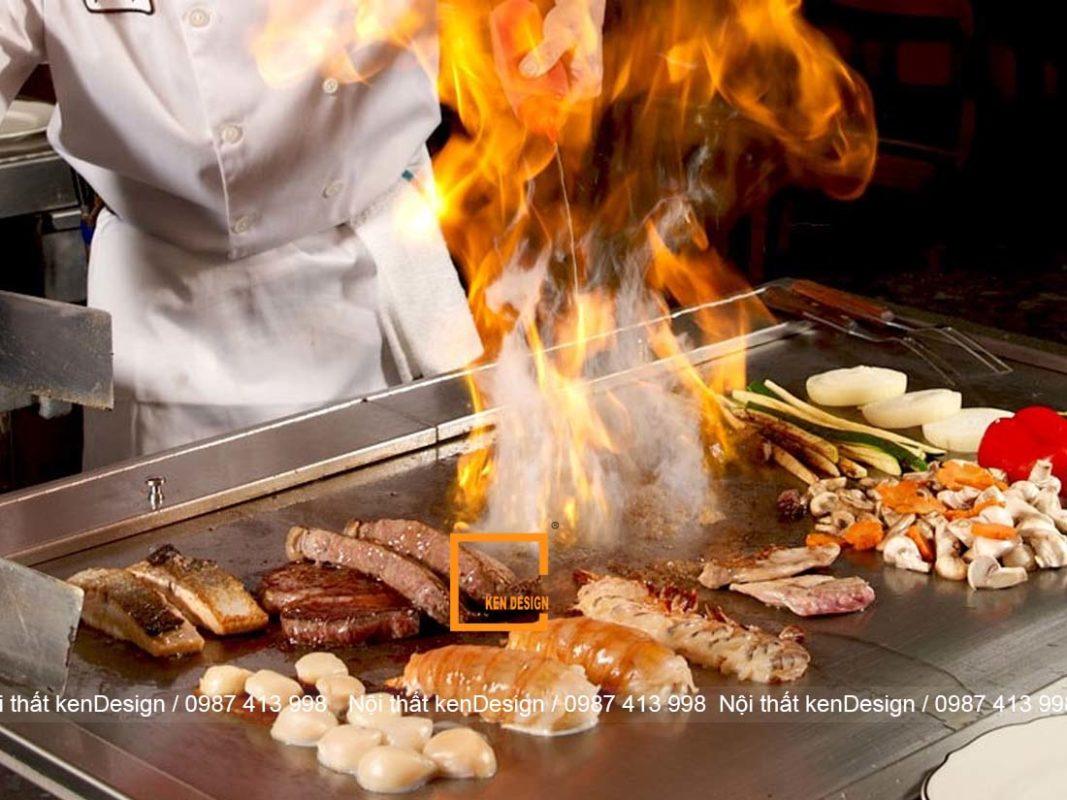 tim hieu ve teppanyaki trong thiet ke nha hang nhat ban 3 1067x800 - Tìm hiểu về Teppanyaki trong thiết kế nhà hàng Nhật Bản