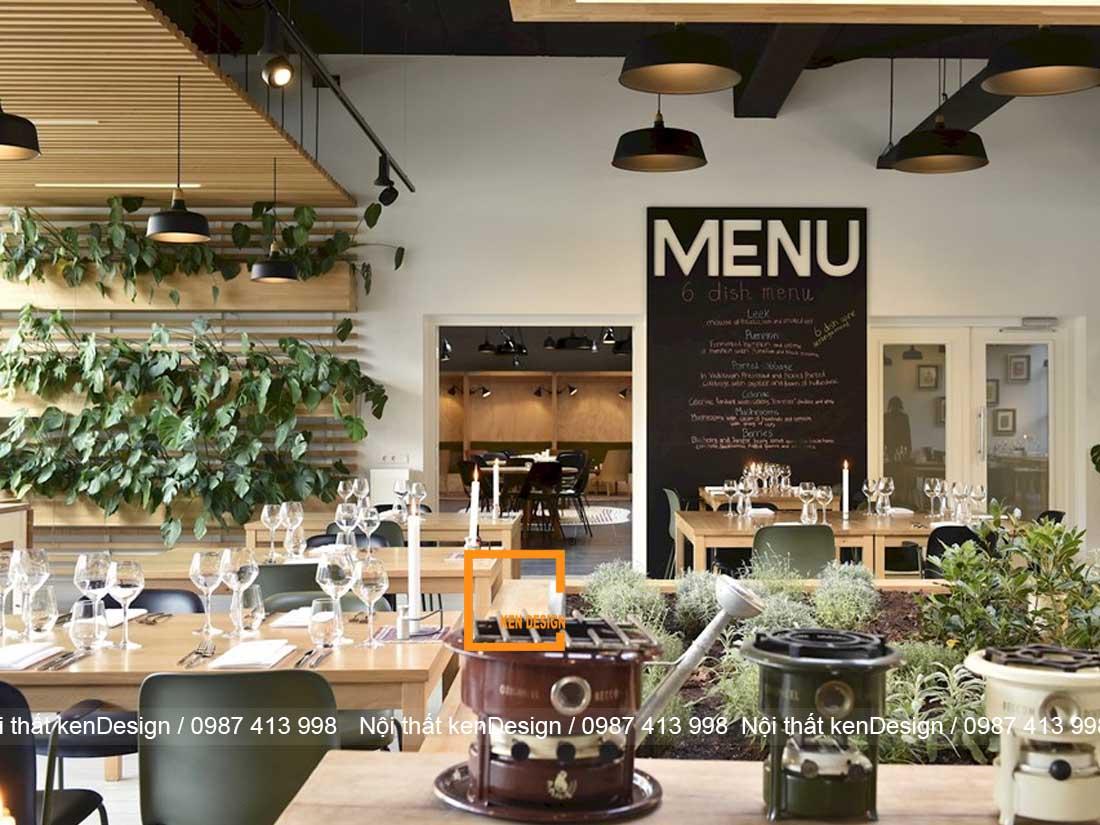 tu van thi cong nha hang an uong dam bao kinh doanh 4 - Tư vấn thi công nhà hàng ăn uống đảm bảo kinh doanh