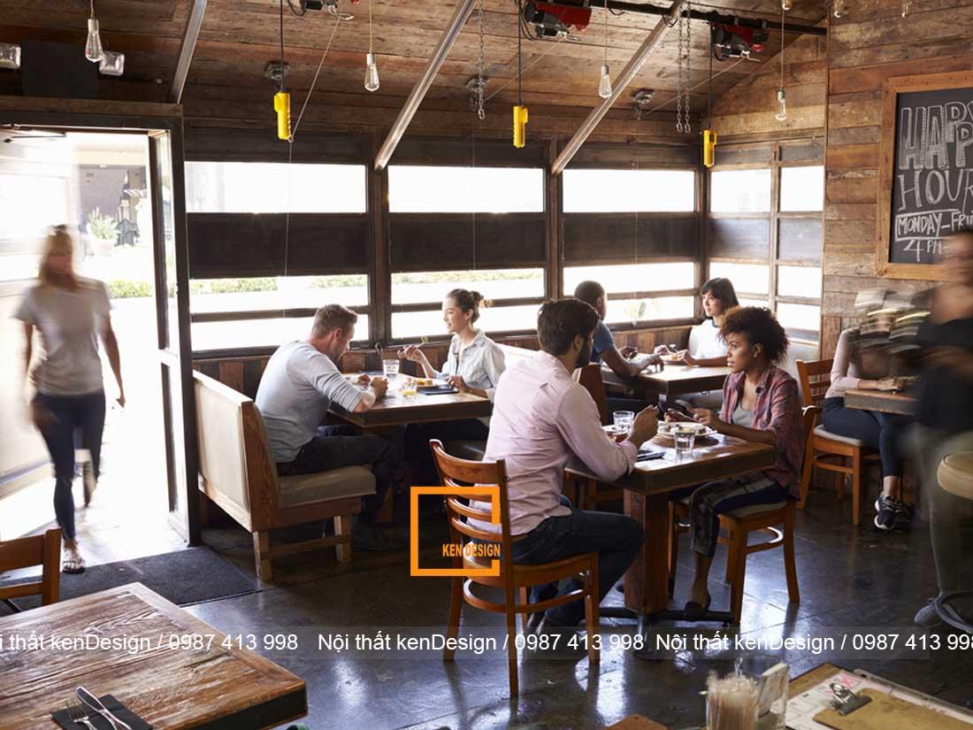 tu van thiet ke nha hang an uong dien tich nho 2 - Tư vấn thiết kế nhà hàng ăn uống diện tích nhỏ