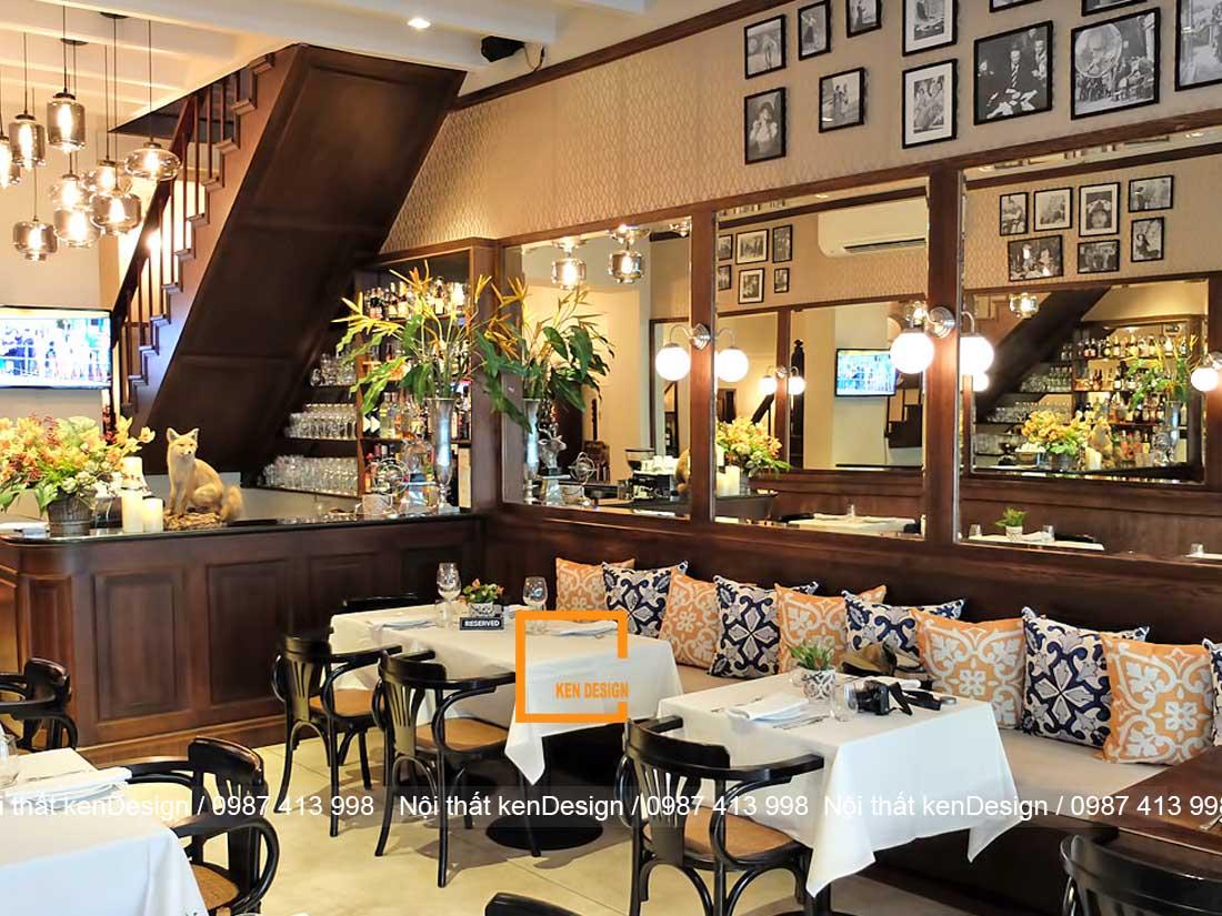 tu van thiet ke nha hang an uong dien tich nho 3 - Tư vấn thiết kế nhà hàng ăn uống diện tích nhỏ
