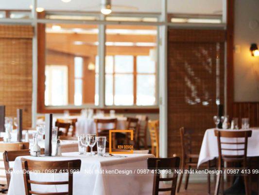 tu van thiet ke nha hang an uong dien tich nho 4 533x400 - Tư vấn thiết kế nhà hàng ăn uống diện tích nhỏ