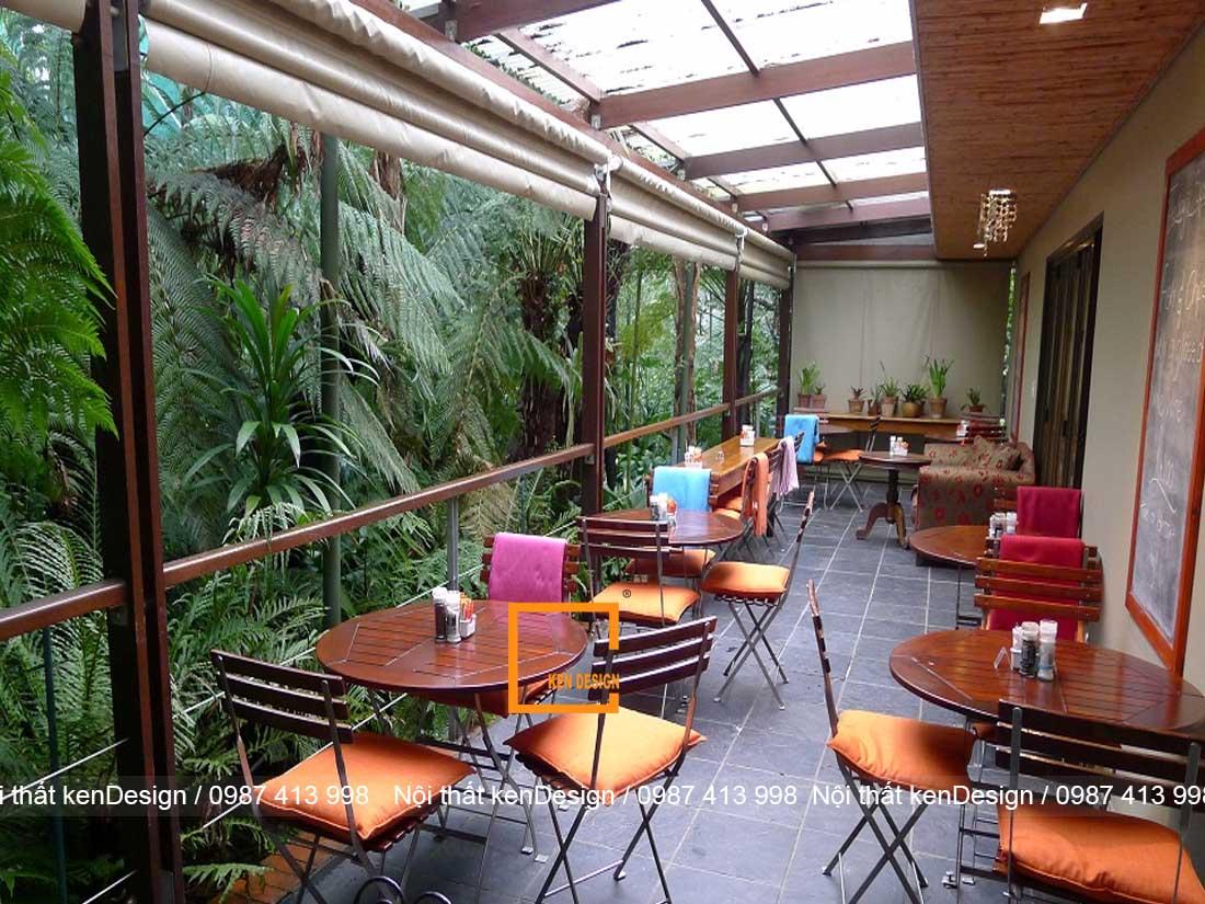 tu van thiet ke thi cong nha hang tron goi phong cach san vuon 3 - Tư vấn thiết kế thi công nhà hàng trọn gói phong cách sân vườn
