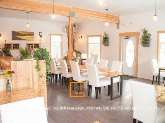uu diem va han che khi thiet ke nha hang tai ha noi 5 533x400 - Ưu điểm và hạn chế khi thiết kế nhà hàng tại Hà Nội