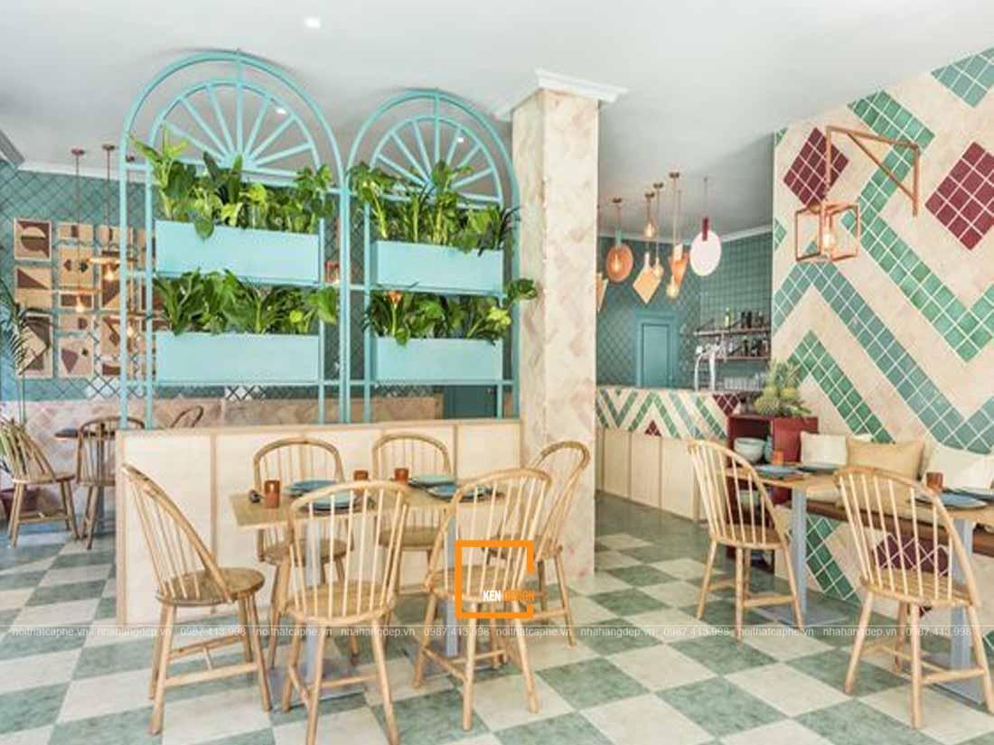 10 - Trang trí thiết kế nhà hàng ấn tượng