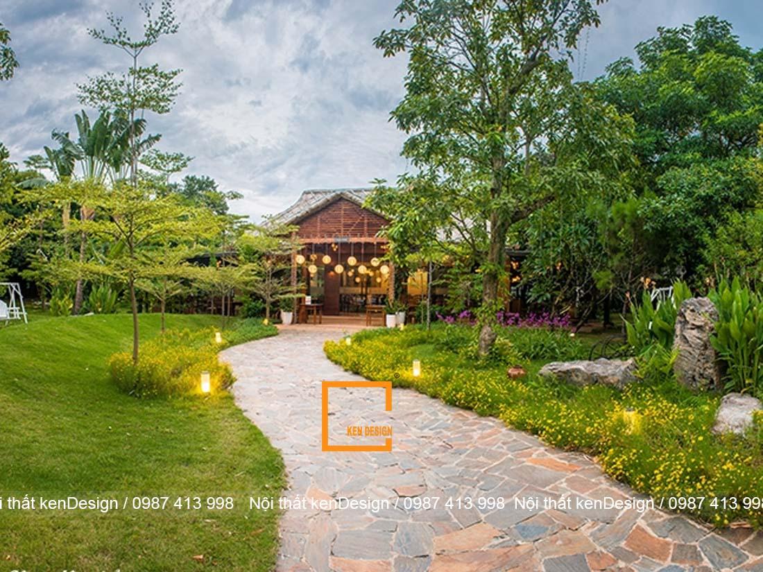 5 thiet ke nha hang san vuon dep tai ha noi dang tham khao 1 - 5 thiết kế nhà hàng sân vườn đẹp tại Hà Nội đáng tham khảo