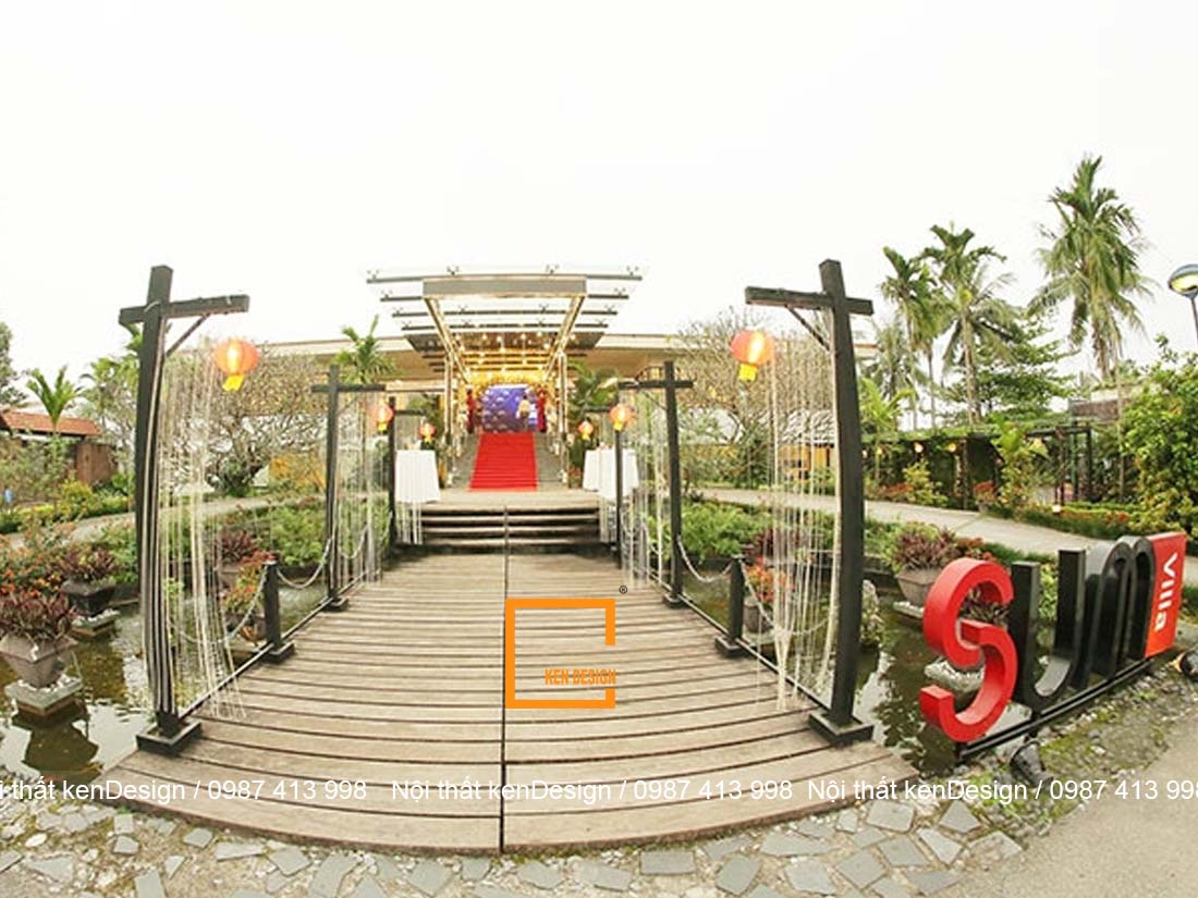 5 thiet ke nha hang san vuon dep tai ha noi dang tham khao 4 - 5 thiết kế nhà hàng sân vườn đẹp tại Hà Nội đáng tham khảo
