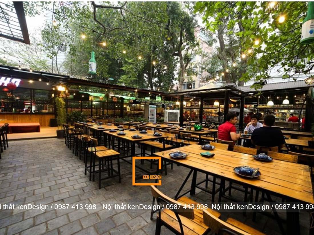5 thiet ke nha hang san vuon dep tai ha noi dang tham khao 5 - 5 thiết kế nhà hàng sân vườn đẹp tại Hà Nội đáng tham khảo