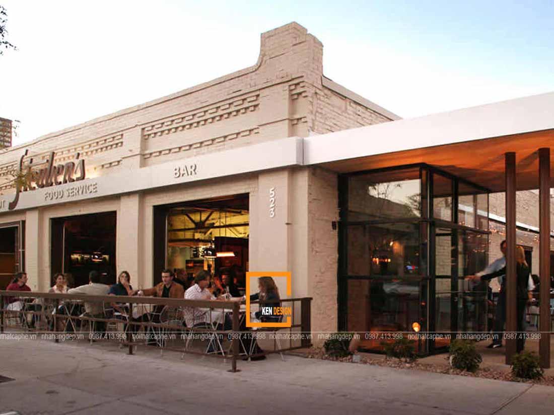 bi quyet thiet ke ngoai that nha hang dep 1 - Bí quyết thiết kế ngoại thất nhà hàng đẹp