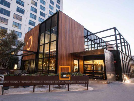 bi quyet thiet ke ngoai that nha hang dep 2 533x400 - Bí quyết thiết kế ngoại thất nhà hàng đẹp