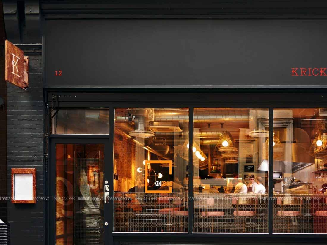 bi quyet thiet ke ngoai that nha hang dep 3 - Bí quyết thiết kế ngoại thất nhà hàng đẹp