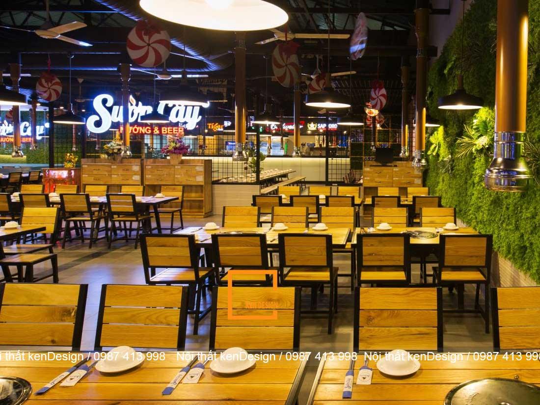 cach thiet ke thi cong nha hang lau nuong tron goi 1 - Cách thiết kế thi công nhà hàng lẩu nướng trọn gói