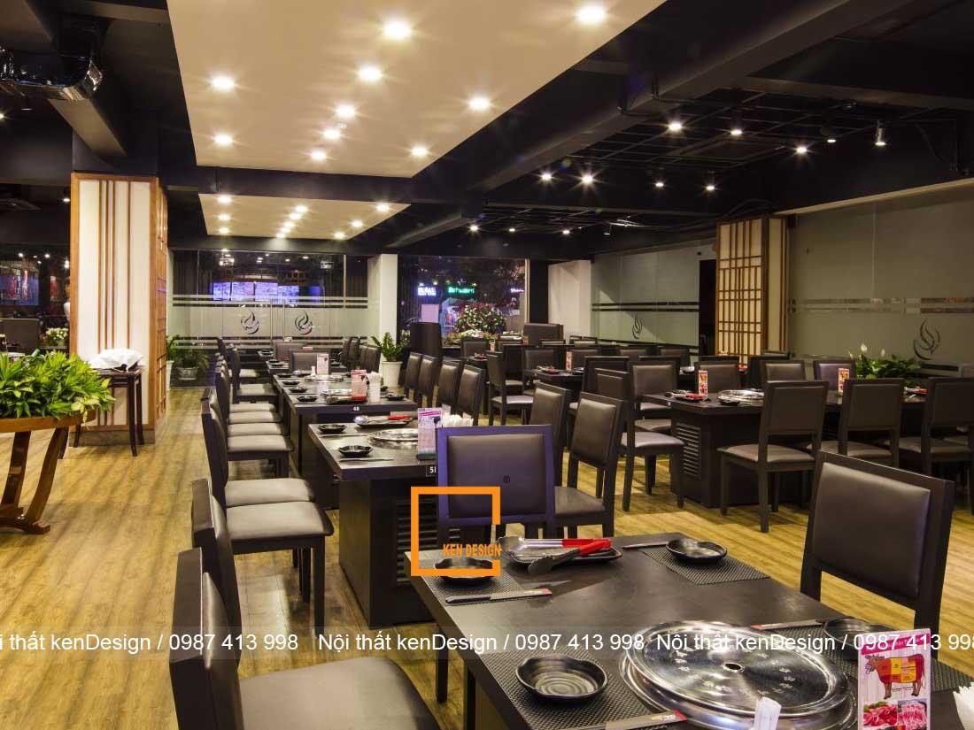cach thiet ke thi cong nha hang lau nuong tron goi 3 - Cách thiết kế thi công nhà hàng lẩu nướng trọn gói