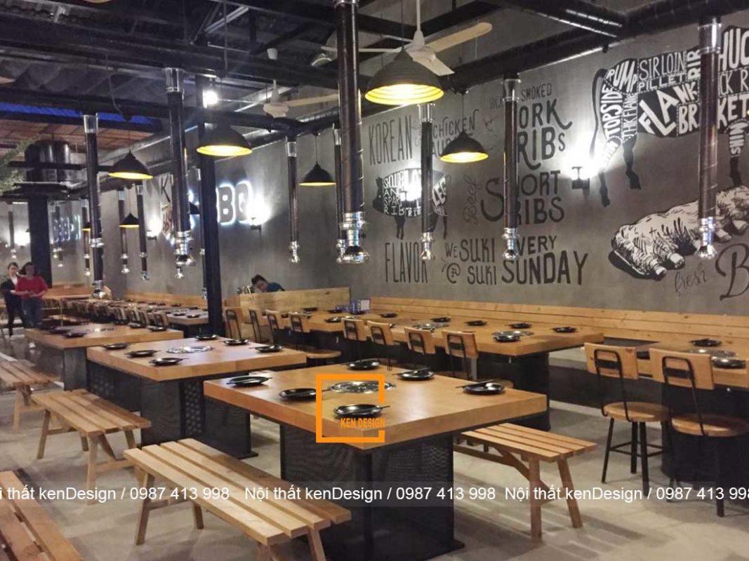 cach thiet ke thi cong nha hang lau nuong tron goi 4 1067x800 - Cách thiết kế thi công nhà hàng lẩu nướng trọn gói