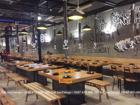 cach thiet ke thi cong nha hang lau nuong tron goi 4 533x400 - Cách thiết kế thi công nhà hàng lẩu nướng trọn gói
