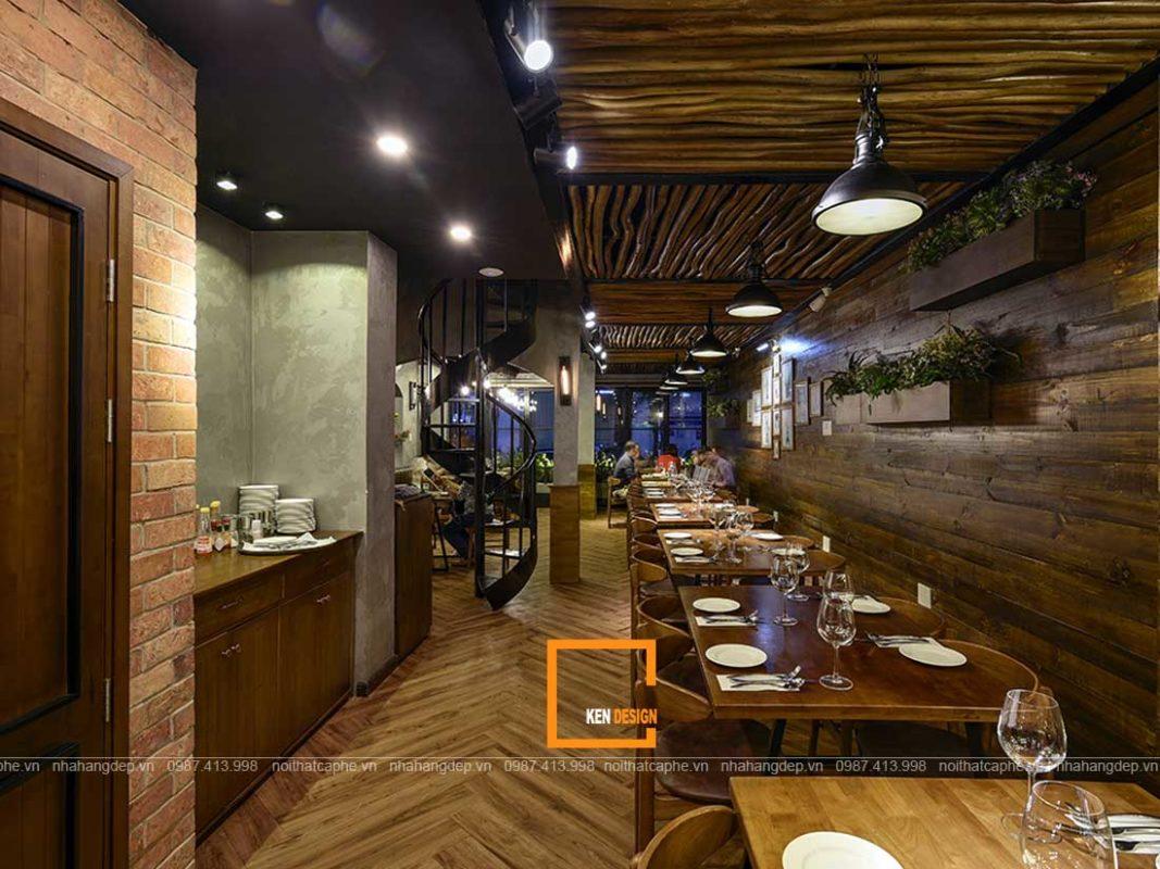 chi phi thiet ke thi cong nha hang dep tai thanh pho ho chi minh 1 1067x800 - Chi phí thiết kế thi công nhà hàng đẹp tại thành phố Hồ Chí Minh