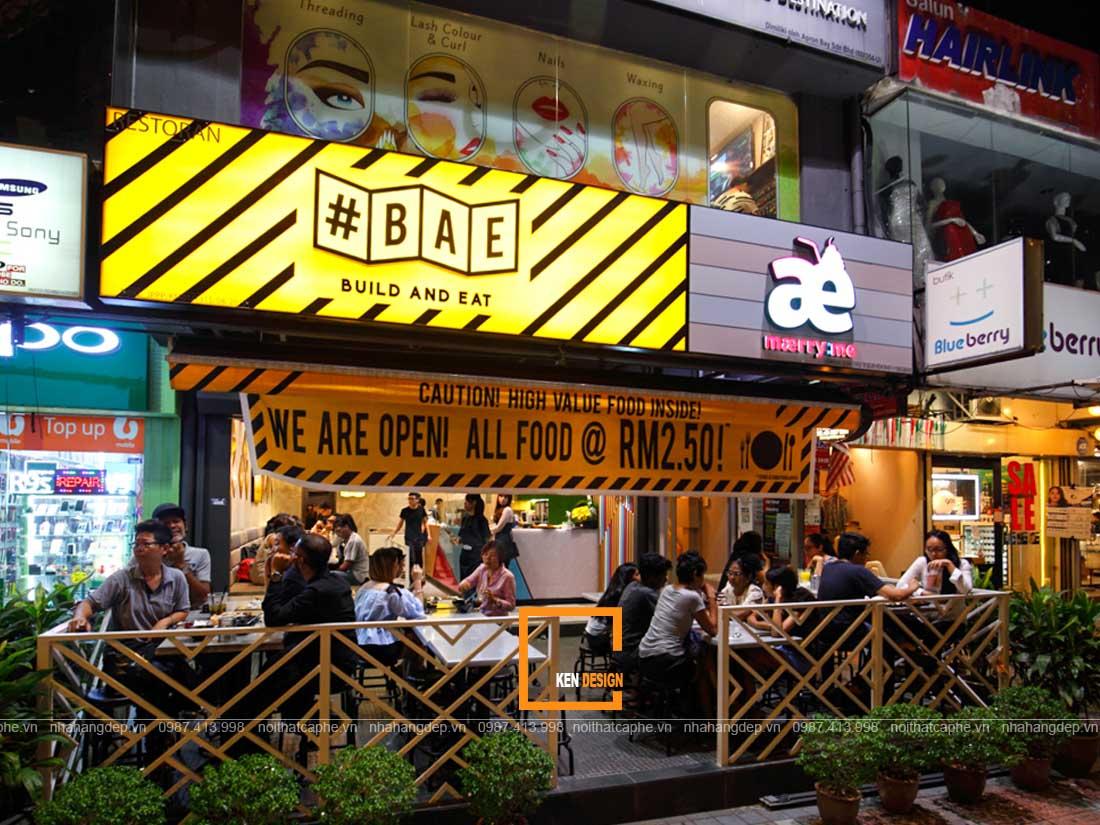 co nen thiet ke nha hang re cho viec kinh doanh 2 - Có nên thiết kế nhà hàng rẻ cho việc kinh doanh?