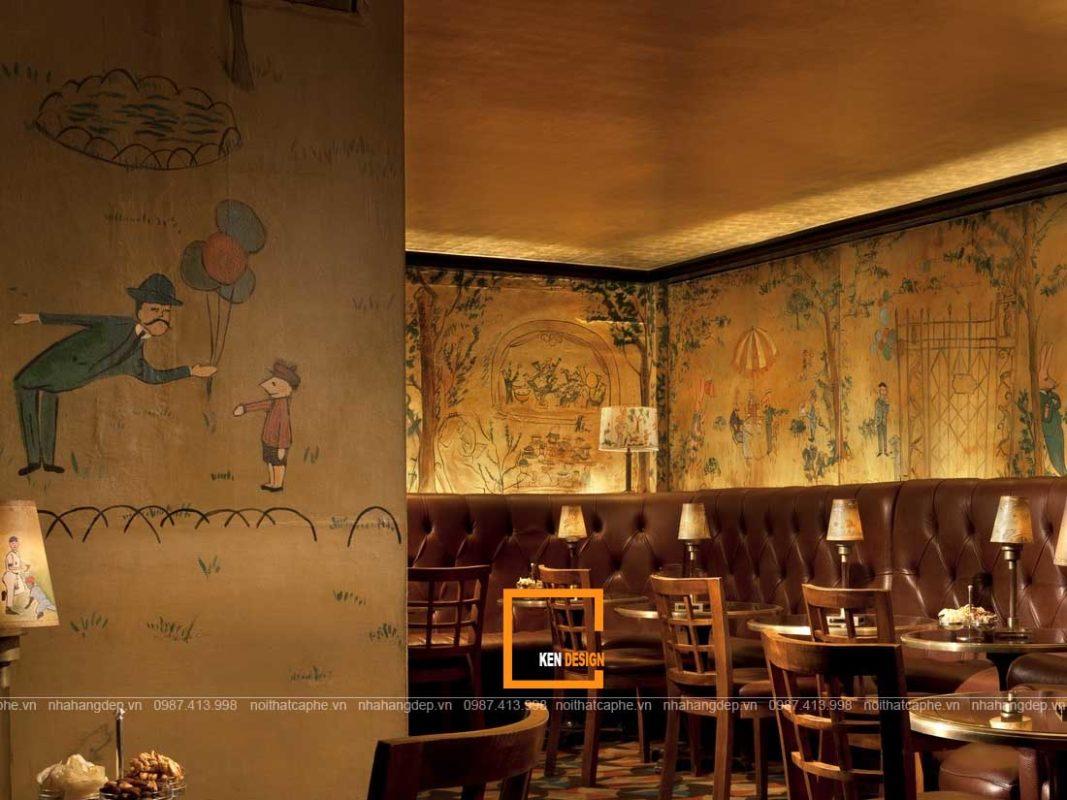 diem dac trung trong thiet ke nha hang phong cach co dien 2 1067x800 - Điểm đặc trưng trong thiết kế nhà hàng phong cách cổ điển