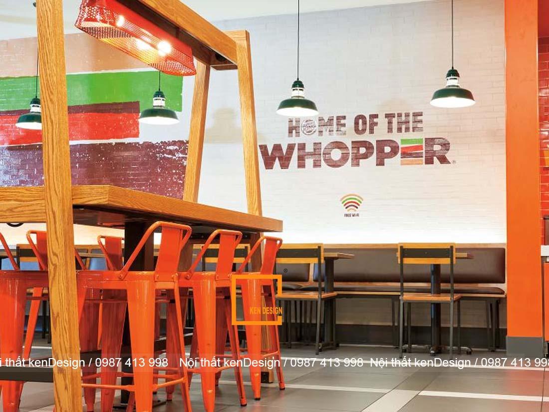 goi y cach thiet ke quan an nhanh dep khoa hoc 3 - Gợi ý cách thiết kế quán ăn nhanh đẹp, khoa học