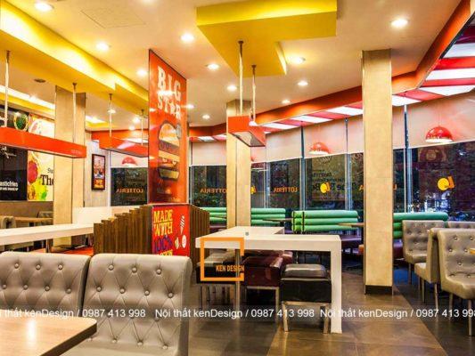 goi y cach thiet ke quan an nhanh dep khoa hoc 4 533x400 - Gợi ý cách thiết kế quán ăn nhanh đẹp, khoa học