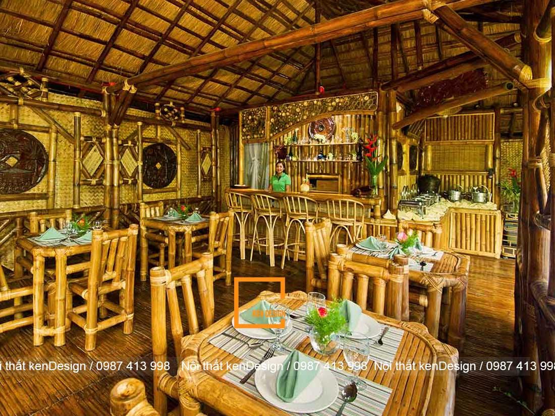 goi y phong cach thi cong nha hang bang tre phu hop nhat 1 - Gợi ý phong cách thi công nhà hàng bằng tre phù hợp nhất