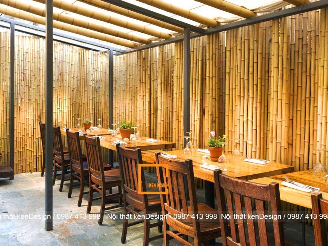 goi y phong cach thi cong nha hang bang tre phu hop nhat 2 1067x800 - Gợi ý phong cách thi công nhà hàng bằng tre phù hợp nhất