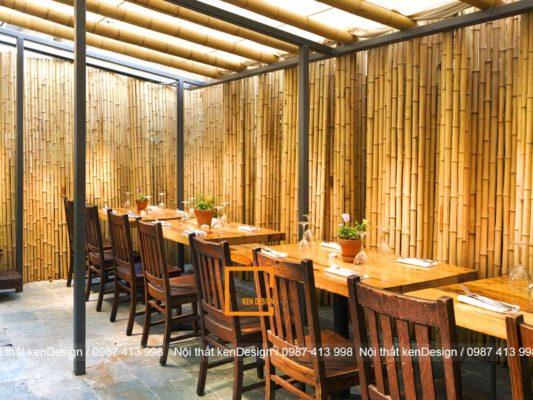 goi y phong cach thi cong nha hang bang tre phu hop nhat 2 533x400 - Gợi ý phong cách thi công nhà hàng bằng tre phù hợp nhất