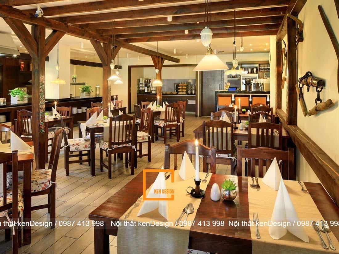 huong dan thiet ke noi that nha hang theo tung khu vuc 4 - Hướng dẫn thiết kế nội thất nhà hàng theo từng khu vực