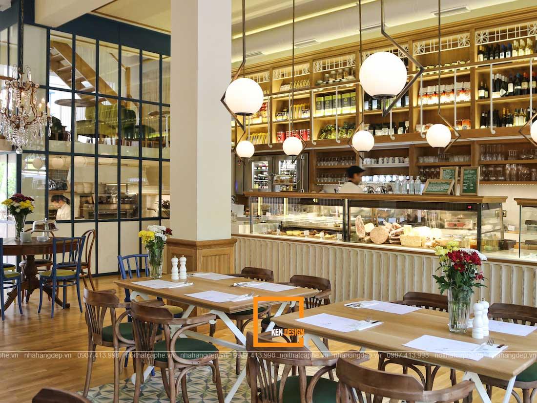 kinh nghiem thiet ke nha hang an uong phong cach vintage 1 - Kinh nghiệm thiết kế nhà hàng ăn uống phong cách vintage