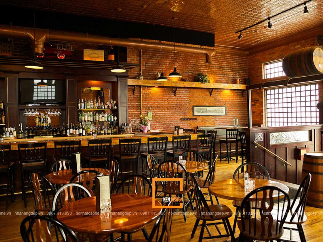 kinh nghiem thiet ke nha hang an uong phong cach vintage 2 - Kinh nghiệm thiết kế nhà hàng ăn uống phong cách vintage